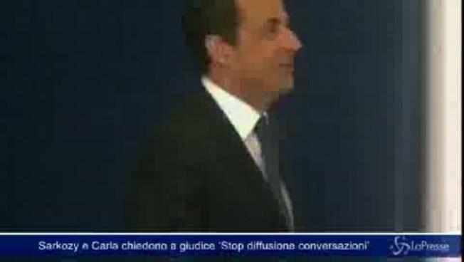 Sarkozy y Carla asisten al juez para detener la difusión de sus charlas