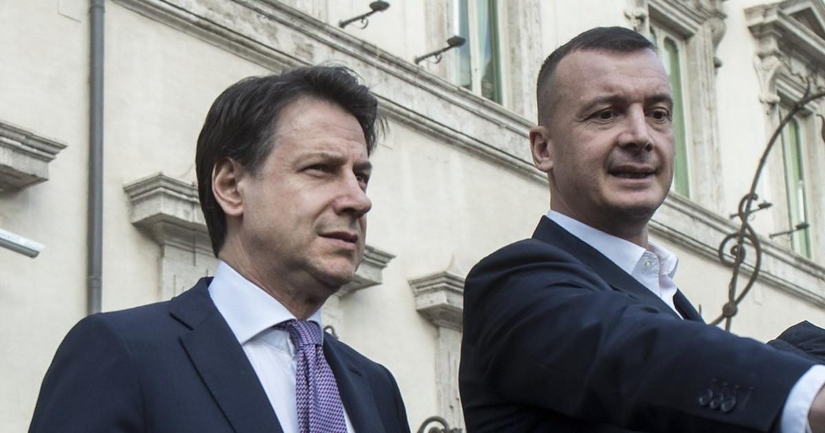 Rocco Casalino e Giuseppe Conte, pace fatta dopo il pasticcio sul ...