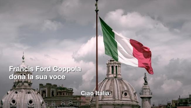 Il messaggio di Francis Ford Coppola agli italiani: 'Siamo con voi'