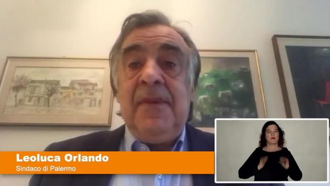 Nuovo appello del sindaco di Palermo 'Anche a Pasqua restate a casa'