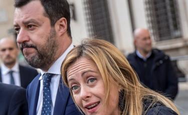 """Matteo Salvini e Giorgia Meloni replicano a Giuseppe Conte: """"Roba da regime"""", """"Metodi totalitari"""" – Libero Quotidiano"""