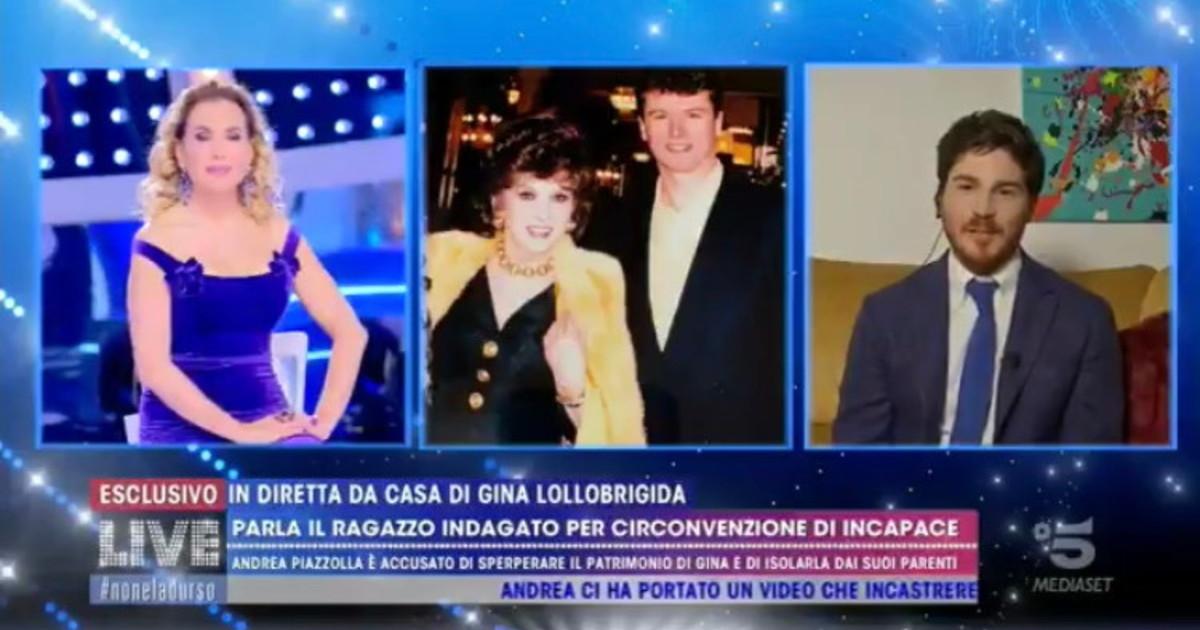 Live-Non è la D'Urso, il figlio di Gina Lollobrigida travolge l'ex ...