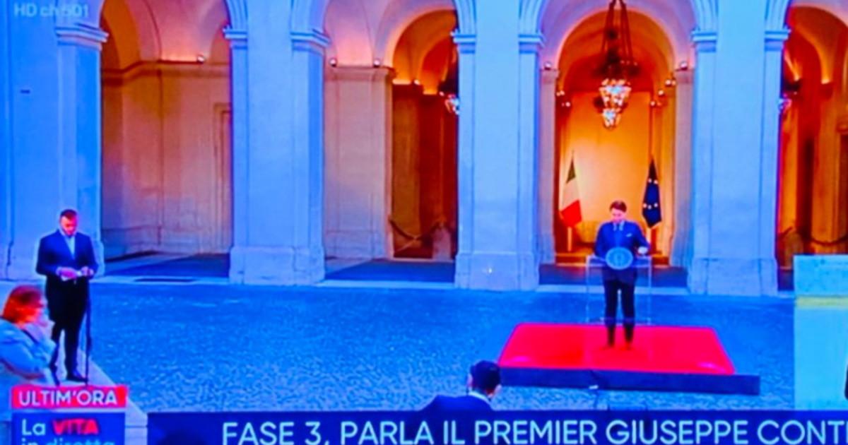 Rocco Casalino, Conte e la inquadratura in diretta. Luca Bizzarri ...