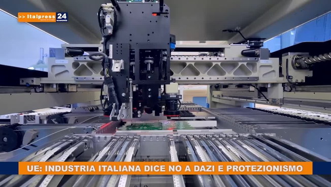 Ue: industria italiana dice no a dazi e protezionismo