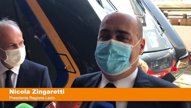 Arriva il primo treno Rock di Trenitalia per il Lazio