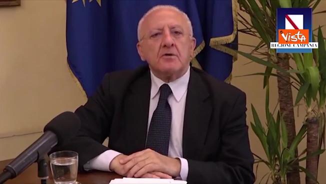 De Luca punge la Lombardia e Fontana: 'Mondragone zona rossa in 24 ore e senza dispute'
