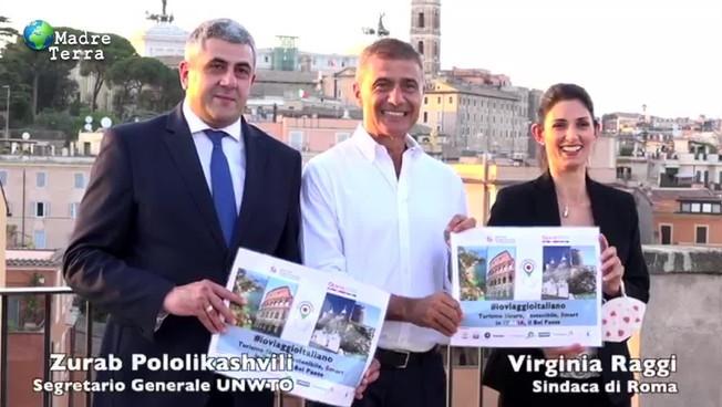 Pecoraro Scanio a Onu e Raggi: 'Roma e Italia siano leader turismo sostenibile e sicuro'