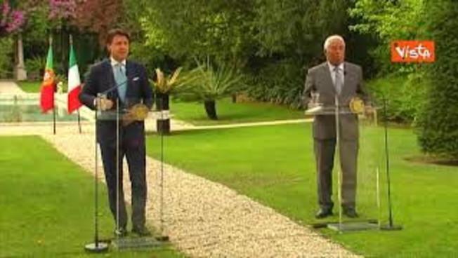 Il premier portoghese Costa promuove Conte: 'Ottimo leader durante il Coronavirus'