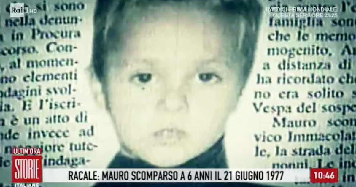 Mauro Romano, sparito a Lecce a 6 anni nel 1977. La svolta ...