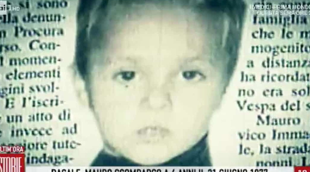 The kidnapper of the little Moro.  A shocking case: True after 43 years