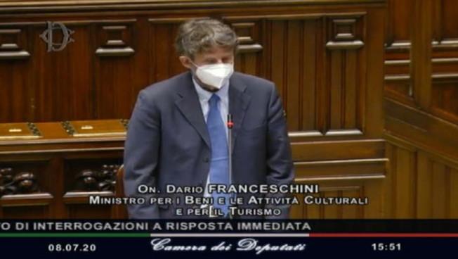 Franceschini: erogati oltre 401mila Bonus vacanze per 183 mln