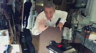 Sarkozy da Fazio con Carla, luego el golpe.  La asociación criminal y los jueces la están corrompiendo