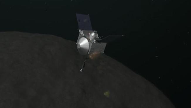 La sonda Osiris Rex sull'asteroide Bennu. L'atterraggio nello spazio profondo