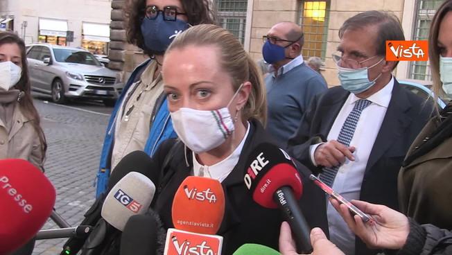 'Sapevano della seconda ondata e non hanno fatto nulla': Giorgia Meloni a valanga contro il governo
