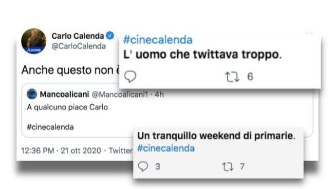 'A qualcuno piace Carlo', su Twitter spopola il #cinecalenda