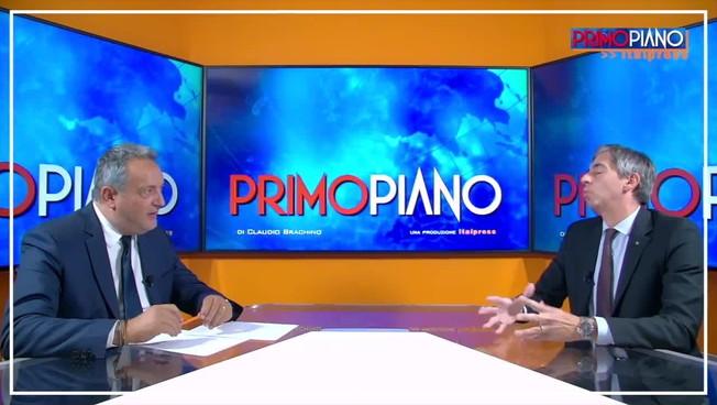 'Primo Piano' - Brachino intervista Il presidente della Fiaip Gian Battista Baccarini