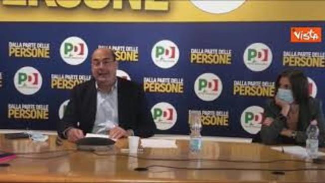 Mattarella, salvaci tu: siamo allo sbando, l'appello di Nicola Zingaretti