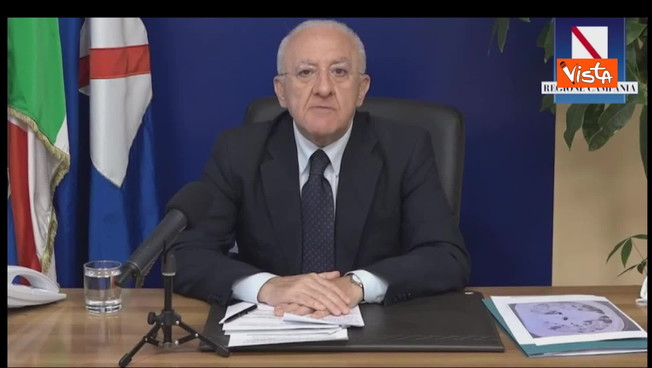 'Camion militari e centinaia di bare': Vincenzo De Luca, la drammatica conferenza stampa