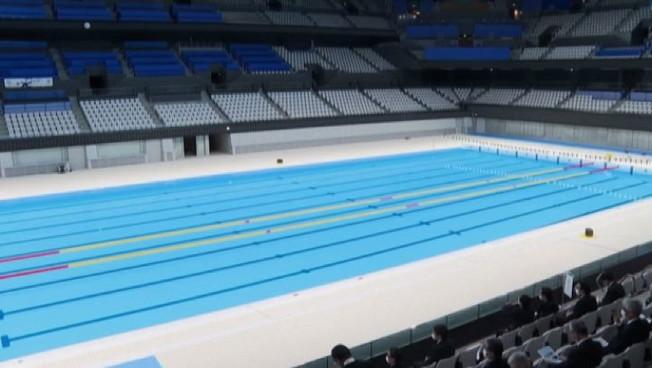 Tokyo2020, inaugurato mega impianto per il nuoto da 15mila posti