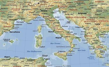 Cartina Geografica Nord Est Italia.Italia Quale Citta E Piu A Est Tra Roma Venezia Napoli E Trieste Sconcertante Verita Cartina Geografica Ribaltata Libero Quotidiano