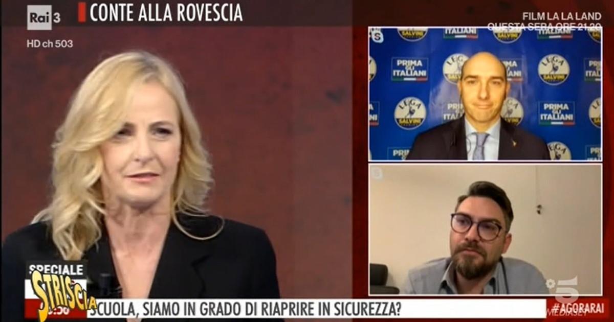 Lo scogl*** di Luisella Costamagna, cosa le esce di bocca: la strepitosa gaffe scovata da Striscia   Video