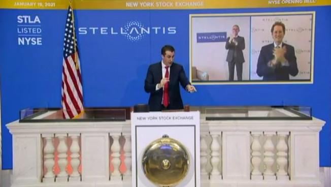 Stellantis debutta anche a Wall Street, apre oltre l'11%