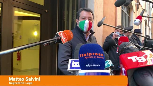 Salvini 'Mettere fine a questa vergogna e tornare al voto'