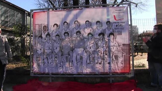 A Reggio Emilia inaugurata una piazza per Kobe Bryant