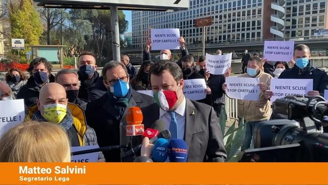 Salvini 'Pronti al confronto sui temi concreti, non sulle poltrone'
