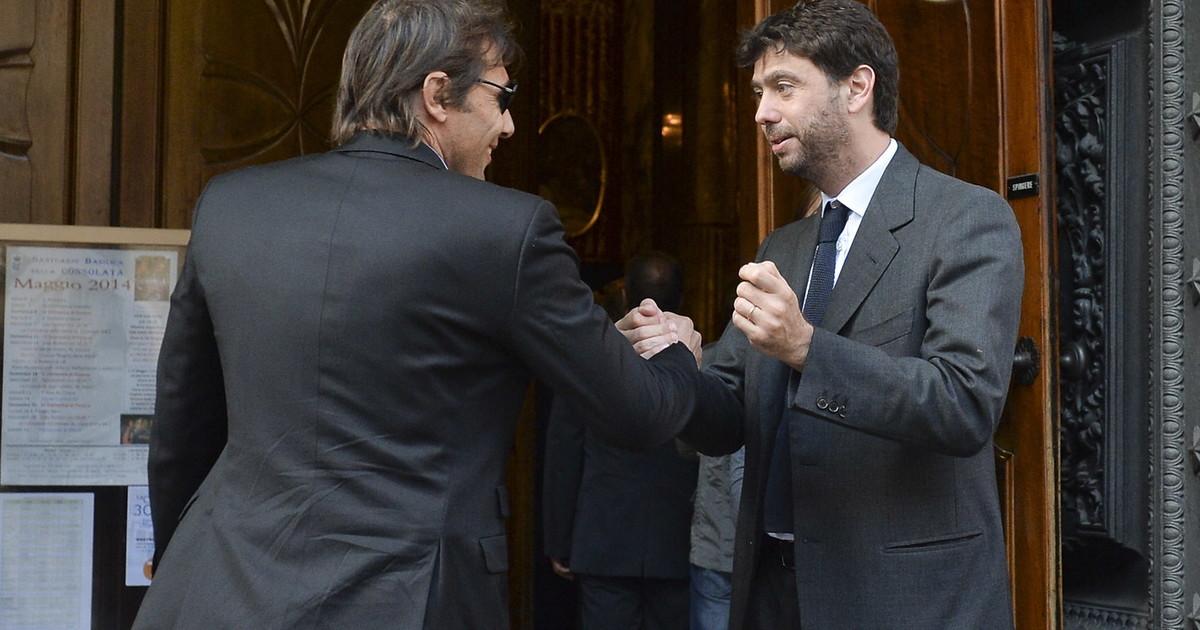 Antonio Conte e Andrea Agnelli, tutti i