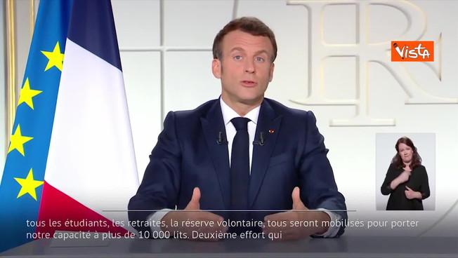 Emmanuel Macron, un anuncio dramático: