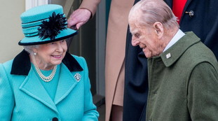 Prince Philip's worth millions of pounds: a shocking number.  And Queen Elizabeth ... a stray in court