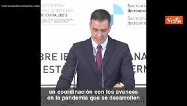Vaccino, Pedro Sanchez: