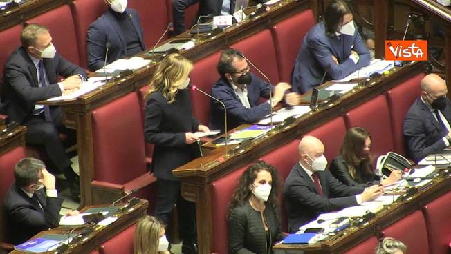 Giorgia Meloni molto dura contro Draghi: