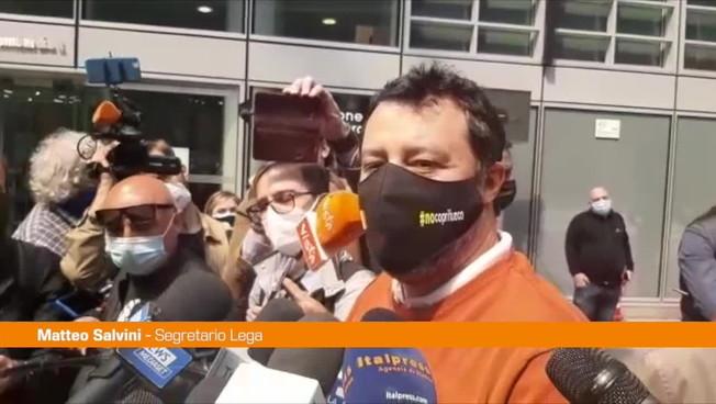 """Amministrative, Salvini: """"Lavoro per l'unità"""""""