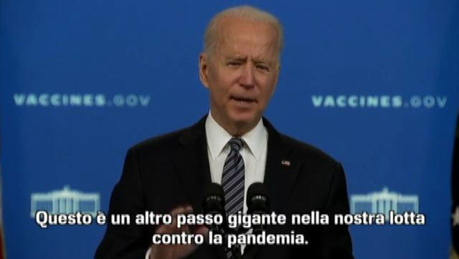 Biden esorta 12-15enni a vaccinarsi: Pfizer sicuro ed efficace