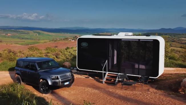 Land Rover Defender Eco Home, casa mobile per vacanze speciali