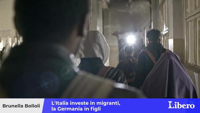 Descubra las diferencias: Italia invierte en inmigrantes, Alemania invierte en niños