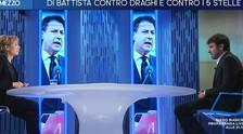 Cuente asesinado por los poderes fuertes, como Gedi.  Di Battista habla y la dirección enmarca a Giannini: humillado con una mueca    Video