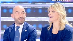 It's not romantic, but ...: Mrs. Basetti for the first time on TV.  Impressive details of the husband Matteo