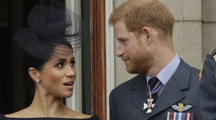 Police are at home in the middle of the night.  An interesting background on Harry and Meghan: untraceable, as far as the royals go