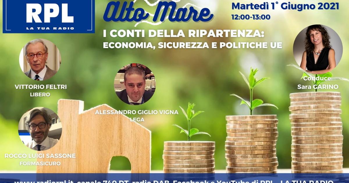 Coronavirus, Vittorio Feltri e la ripartenza conta: dalla funivia di Stresa Mottarone all'Europa, il dibattito in diretta