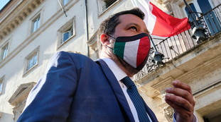 But in this way Salvini is in danger.  Very toxic background: Where does the real danger to Matteo come from