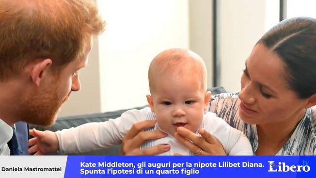 Kate Middleton, auguri alla nipote Lilibet Diana. E compare l'ipotesi di un quarto figlio