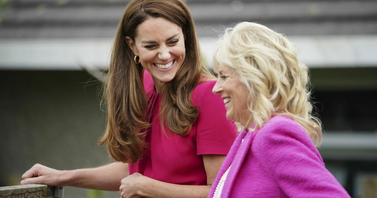Kate Middleton, este estranho entendimento com a esposa de Joe Biden: rumores emocionantes (sobre Meghan Markle)