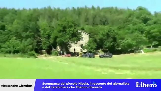 Scomparsa del piccolo Nicola, la storia del giornalista e del fuciliere che lo ha ritrovato