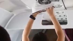 Merda sull'aereo, toglile le mutandine e asciugala? Orrore e mistero: cosa c'è (davvero) dietro questo video