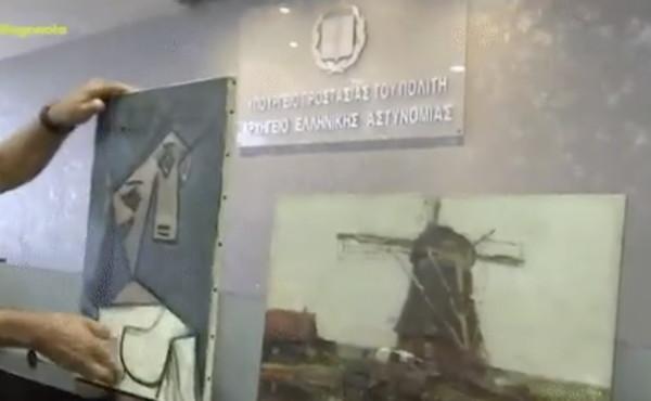 Picasso, ritrovato il quadro rubato 10 anni fa. La polizia lo mostra in mondovisione, finisce in disgrazia