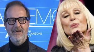 First Sanremo, then Eurovision.  Death of Raffaella Carrà, because the plans of Rai 1 are skipped