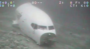 Boeing 737 crashed in Honolulu?  Where did they find the pieces: Save the pilots, something inexplicable